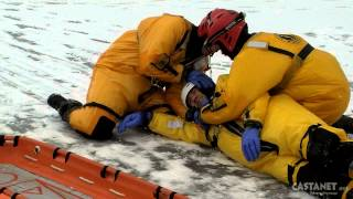 Ice Rescue Training In West Kelowna