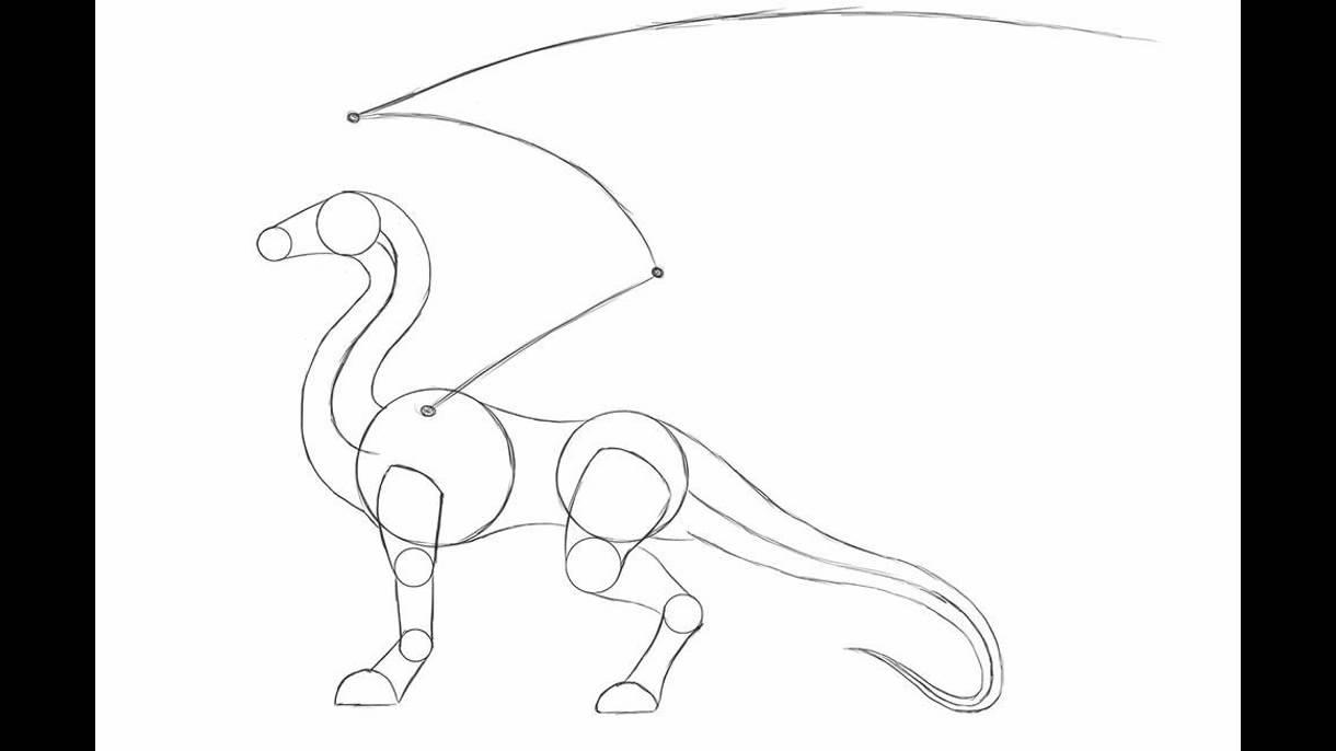 Como dibujar un dragon paso apaso youtube for Como disenar un jardin paso a paso
