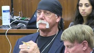 Hulk Hogan takes stand in sex tape trial