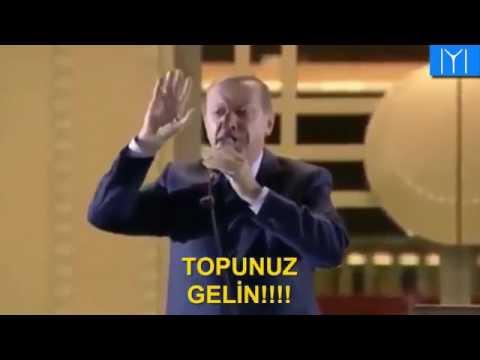 Başkomutan Erdoğan: Bir Ölür Bin Diriliriz!