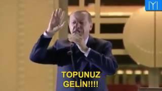Başkomutan Erdoğan Bir Ölür Bin Diriliriz
