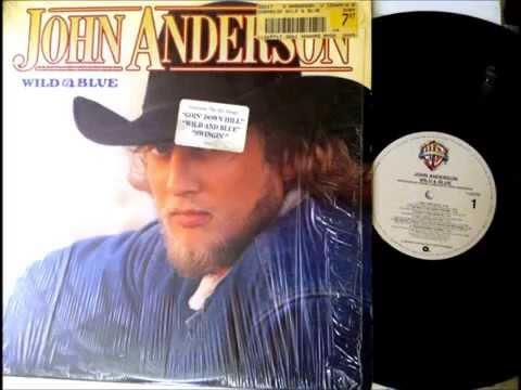 Wild & Blue , John Anderson , 1982 Vinyl