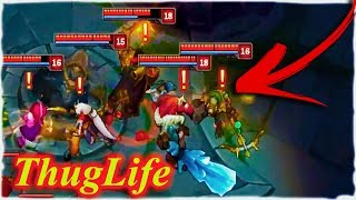 TOP 15 AMAZING FUNNY MOMENTS IN THE WORLD #64 ( League of Legends )