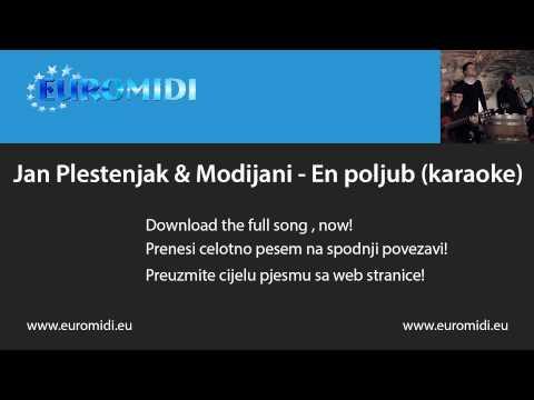 En poljub - Jan Plestenjak & Modrijani (karaoke)