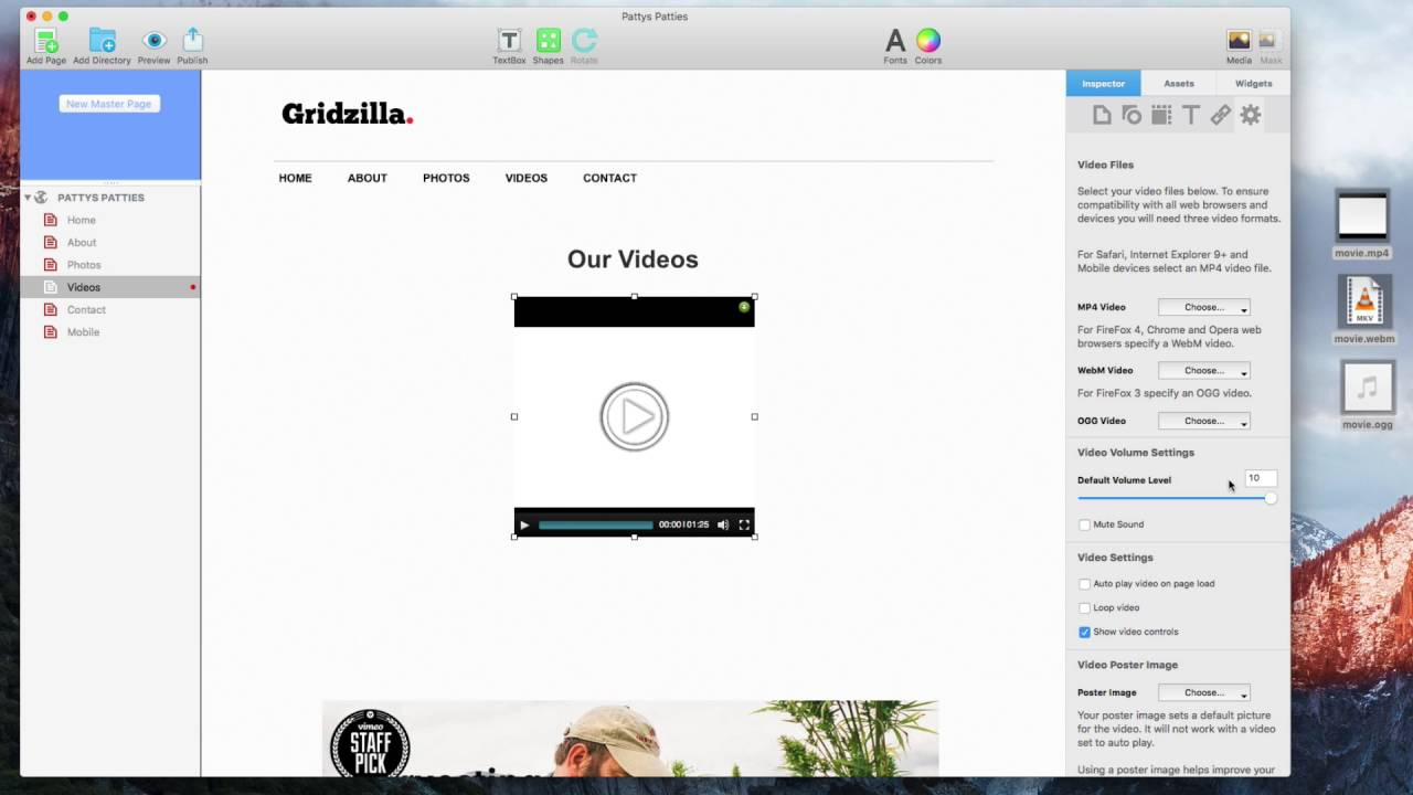 How To Add Video To Your Site Using The Video Widget