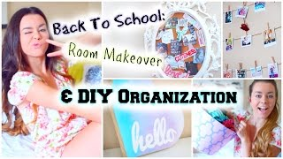 Back To School Room Makeover! Diy Organization & Decor!