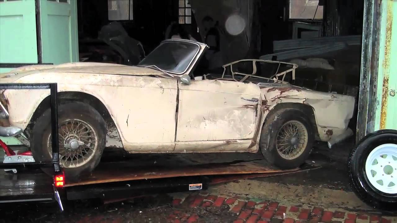 Classic Recollections 1963 Triumph Tr4 Youtube