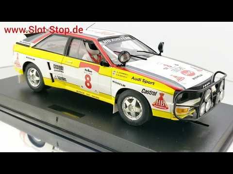 360° Slotcar | Fly Audi Quattro Safary Rally (FY-A2005)