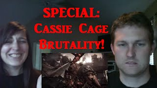 OH DEAR GOD! - MKX Unlocked Cassie Cage Brutality