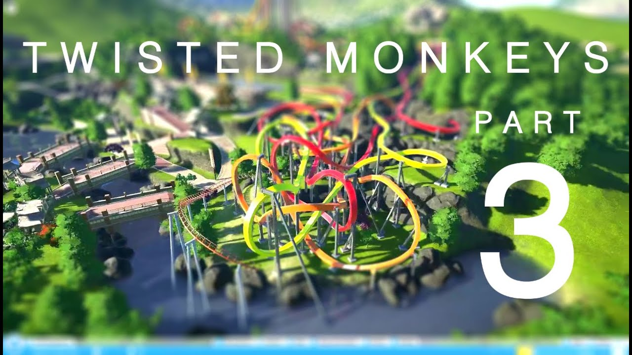 Download Planet Coaster | Twisted Monkeys - Build Part 3