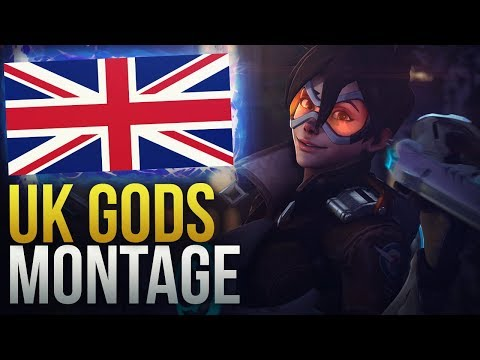 GODS OF UNITED KINGDOM - Overwatch Montage thumbnail
