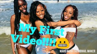 My first YouTube video!!😊😂