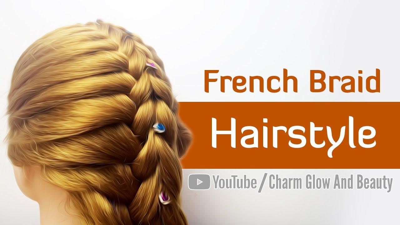 Sexy Braid Styles | Balo Ke Hairstyle - YouTube