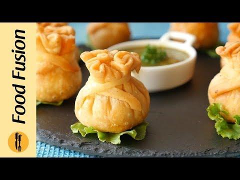 Butter Chicken Potli Samosa Recipe By Food Fusion (Ramzan Special)