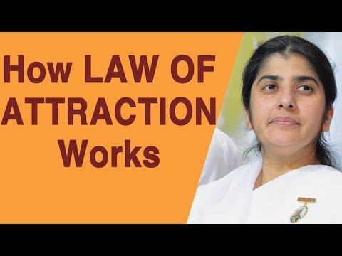How LAW OF ATTRACTION Works: BK Shivani