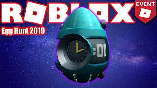 [EASY] How to get the Scrambling Egg of Time - HUB - Roblox Egg Hunt 2019 GUIDE