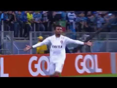 Gol de Kieza - Grêmio 1 x 2 Vitória - Brasileirão 2016