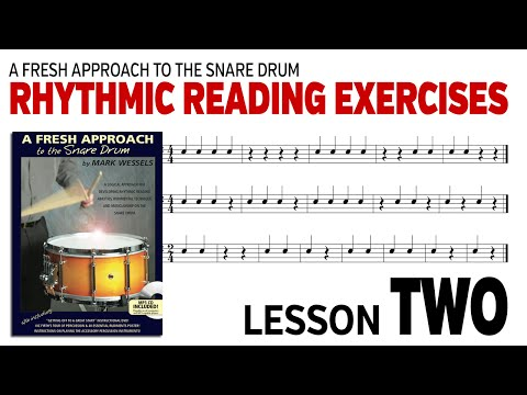 Music Rhythm Reading: Lesson 2