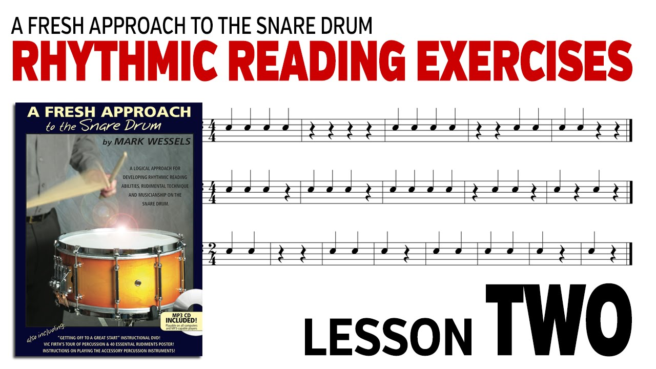 music rhythm reading: lesson 2 - youtube