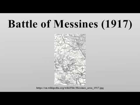 Battle Of Messines (1917)
