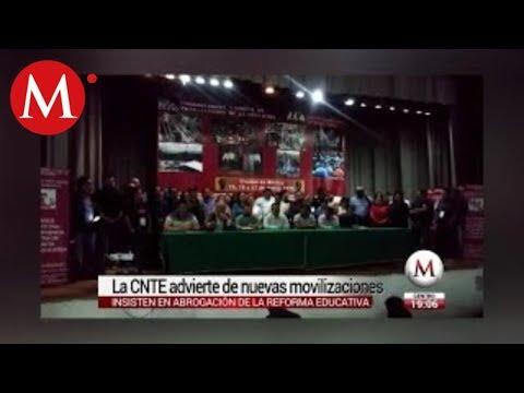 """Amaga la CNTE con protesta """"nunca vista"""""""