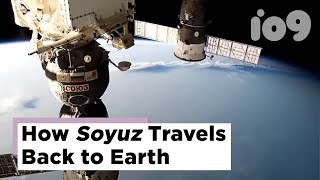 How Soyuz travels back to Earth: From soft undock to brutal controlled crash