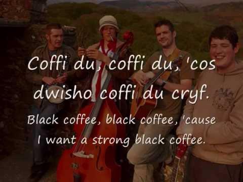Coffi Du - Gwibdaith Hen Frân (geiriau / lyrics)