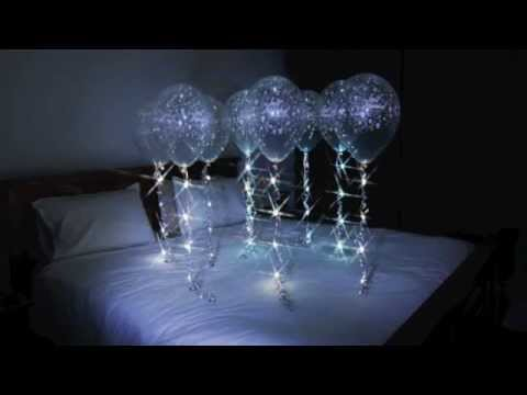 Sparkle Ribbon in balloons & flowers