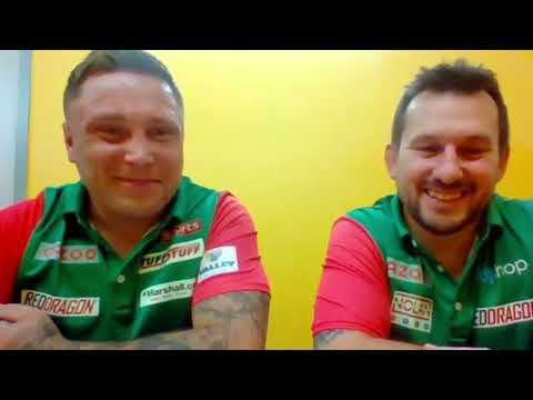 """Gerwyn Price and Jonny Clayton: """"Let the other teams think about us, we know we can do it"""""""