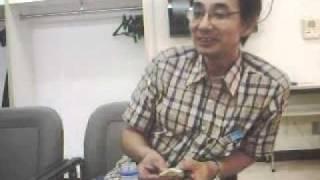 2010年9月7日、長岡市立劇場にてリハーサル後、楽屋にて。 ・遠藤さんに...
