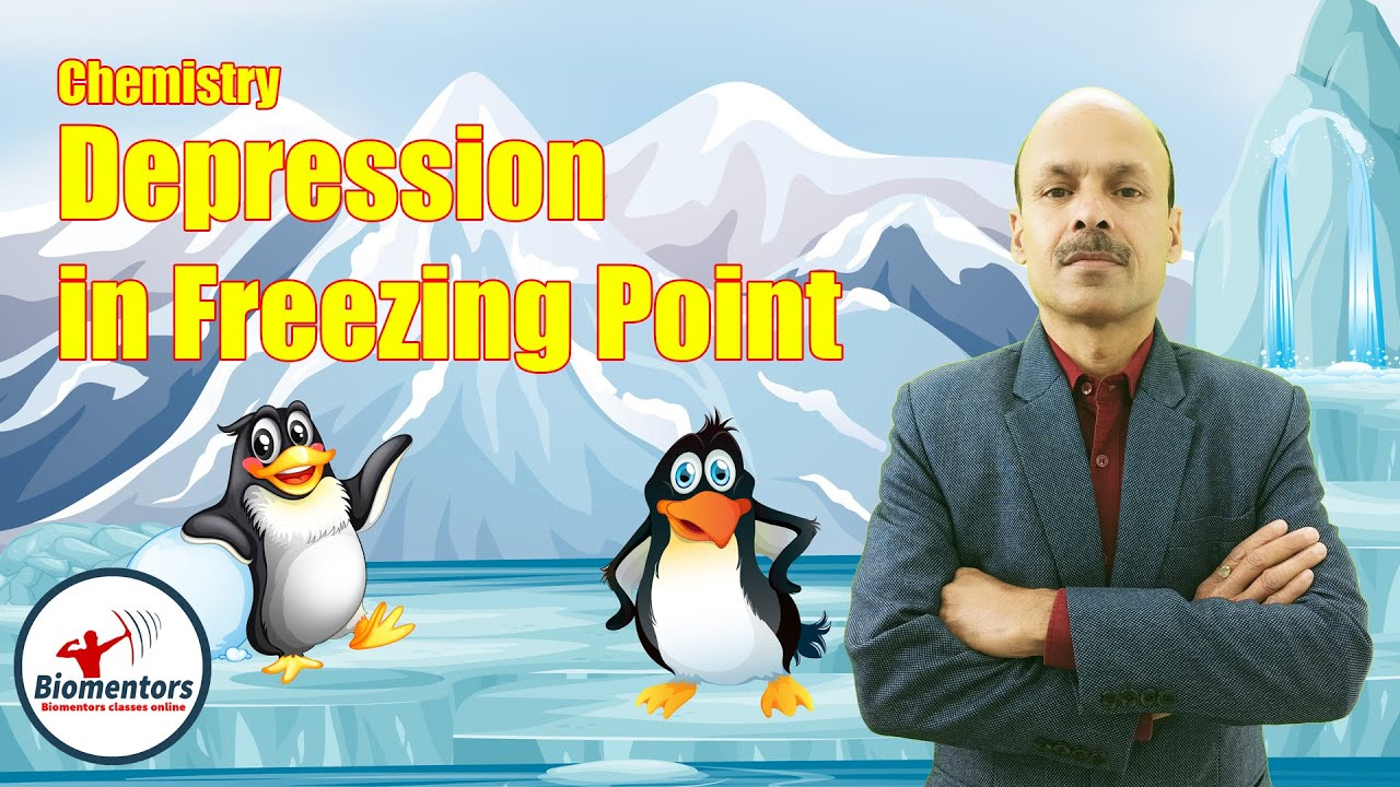 Chemistry Golden Excerpts | Solutions | Depression in Freezing Point