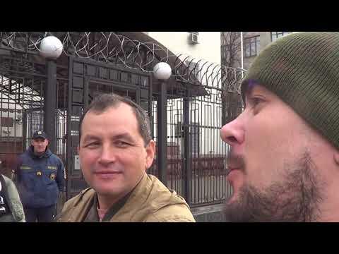 Видео: НЕ русский марш в Киеве 4.11.19 Выступление Белогвардейца для соратников.