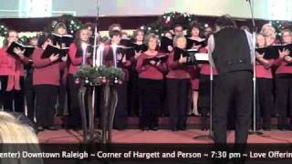 Unity Church of the Triangle Choir - Gloria, He is Born!
