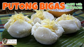 PUTONG BIGAS made with RICE FLOUR (Mrs.Galang's Kitchen S11 Ep10)