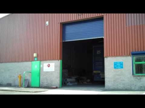 ThermAdor Industrial Kingspan insulated sectional overhead door & ThermAdor Industrial Kingspan insulated sectional overhead door ...