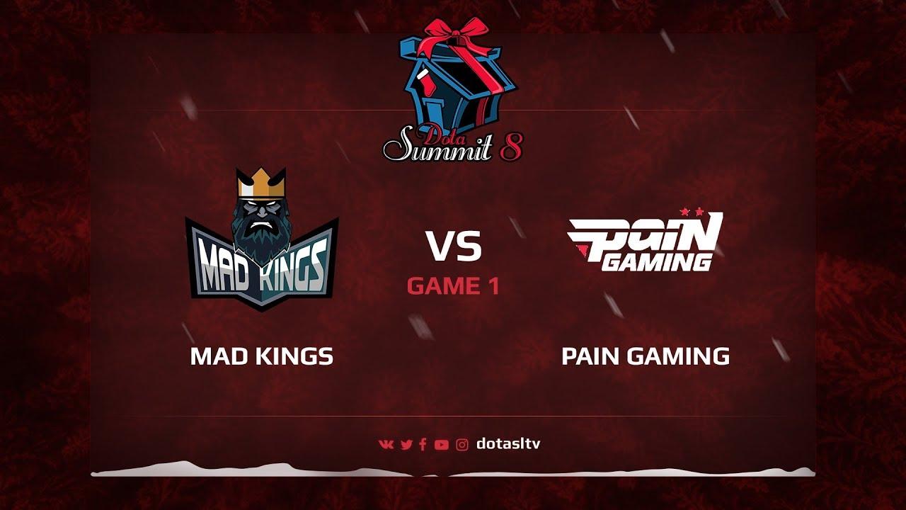 Mad Kings против Pain Gamin, Первая карта, Квалификация на Dota Summit 8