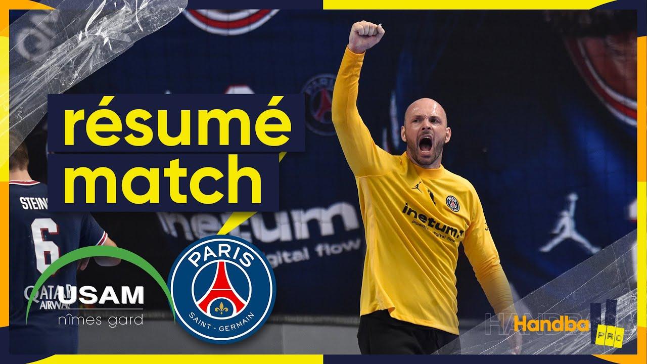 Download Nîmes/Paris, le résumé du match