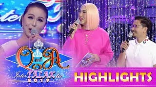 It's Showtime Miss Q & A: Vice exchange jokes with Ma'am Charot Santos