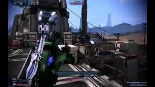 Mass Effect 3. Power Vanguards Lightspeed Rescue