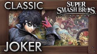 Super Smash Bros. Ultimate: Classic Mode - JOKER - 9.9 Intensity No Continues