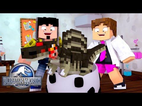 Minecraft: SPINOSSAURO BEBÊ ! - JURASSIC WORLD Ep.12  ‹ LOKI ›