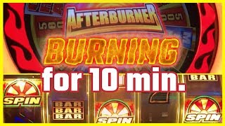 🔥 AfterBurner ➡BURNING WHEEL 🎰 10 Minute Tuesdays 🔥✦ Slot Machine Pokies w Brian Christopher
