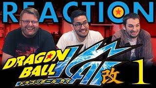 TFS DragonBall Z Kai Abridged REACTION Episode 1