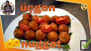 (Yemek) Üçgen Peynirli Nugget Tarifi Nasıl yapılır ? Sibelin mutfağı ile yemek tarifleri