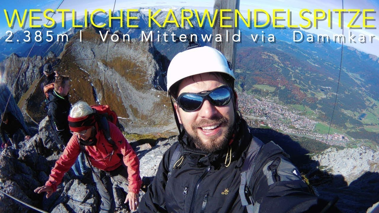 Durch das Dammkar zur Westlichen Karwendelspitze