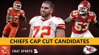 6 Players The Chiefs Could Cut To Free Up Salary Cap Space Feat. Damien Williams & Anthony Hitchens