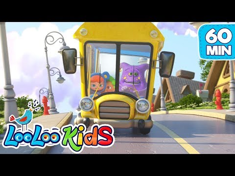 Thumbnail: The Wheels On The Bus - THE BEST Nursery Rhymes for Children | LooLoo Kids