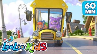 Download Lagu The Wheels On The Bus - THE BEST Nursery Rhymes for Children | LooLoo Kids mp3