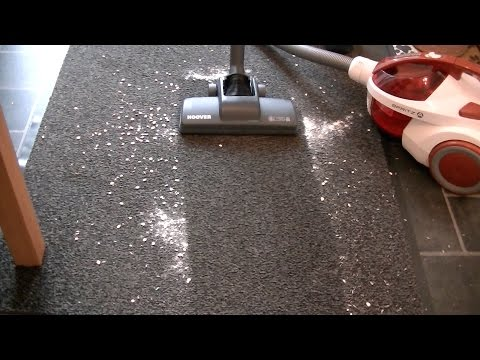Hoover Spritz Bagless Vacuum Cleaner Full Demonstration & Review
