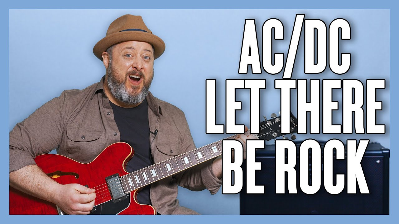 AC/DC Let There Be Rock Guitar Lesson + Tutorial